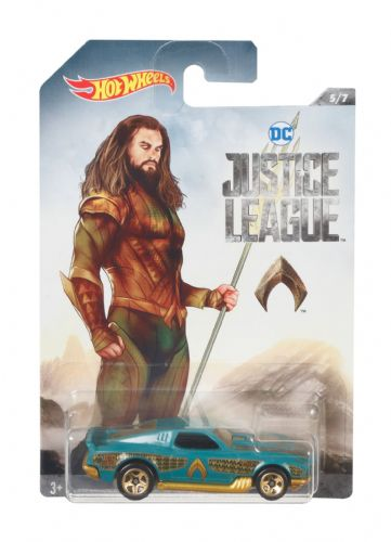 Hot Wheels DC Justice League Aqua Man Blvd Bruiser